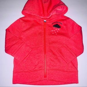 NEW Baby girls hoodie Size 12-18 months